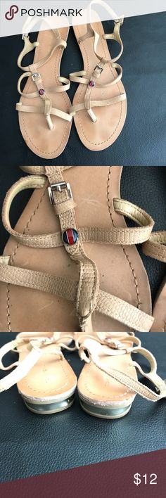 Tommy Hilfiger Sandals Leather Tommy Hilfiger sandals Used condition but still have life Very comfortable Tommy Hilfiger Shoes Sandals