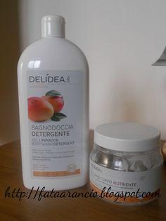Delidea-Bagnodoccia e Balsamo Corpo Albicocca e Mango