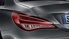 Mercedes CLA Tail lights