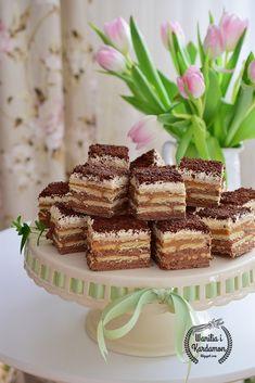 "Wanilia i Kardamon: Ciasto ""Orzeszek"" bez pieczenia Krispie Treats, Rice Krispies, Vanilla Cake, Nutella, Cheesecake, Food And Drink, Baking, Blog, Cakes"