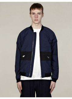 U Clothing Men's Blue Bomber Jacket.