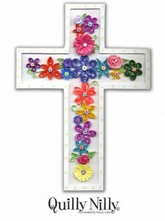 Quilled Cross - Quilled Creations Quilling Gallery