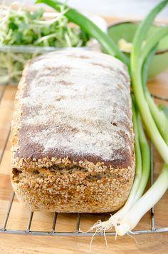 chleb z mąki pełnoziarnistej