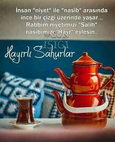 Turkish Language, Iftar, Allah, Tea Pots, Diy And Crafts, Tableware, Deen, Instagram, Photos