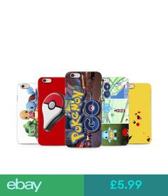 Cases & Covers Pokemon Go Game Pikachu Animation Cartoon Kids Teen Phone Case Cover For Iphone #ebay #Electronics