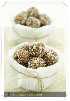Mi dulce tentación: Trufas de Avena y Cacao