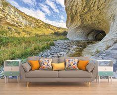 cave wall muraltunnelperspectiveentrancewall by PhotoDecorByDani