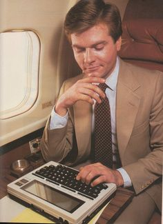 Tandy Model 100- I wanted one of these SOOOO bad. -SG