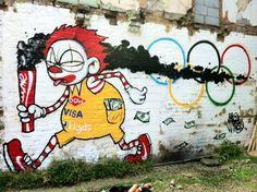 """Olympic Take-away"" by artist – Mau-Mau"