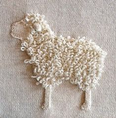 Ravelry: Project Gallery for White Sampler pattern by Nicky Epstein French Knot Embroidery, Flower Embroidery Designs, Simple Embroidery, Silk Ribbon Embroidery, Embroidery Art, Embroidery Patterns, Embroidery Stitches, Lace Beadwork, Animal Knitting Patterns