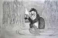 Happy Monster in Lagoon :) From: Barbora Gradová https://www.facebook.com/Bagrrrr?fref=ts