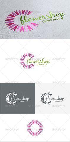 Flower Shop Logo — Vector EPS #elegant #eps • Available here → https://graphicriver.net/item/flower-shop-logo/3675769?ref=pxcr
