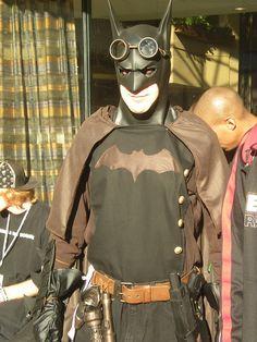 Steampunk Batman, via Flickr.