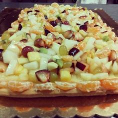 custard fruit tart, torta crema pasticcera e frutta