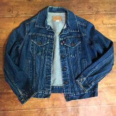 3b8d72ae Vintage Unisex Levi's Denim Jean Jacket Large VtG 80's 90's | eBay Denim ...