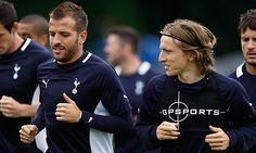 Modric and Van der Vaart fondly recall Tottenham days - http://www.allvoices.com/contributed-news/16588919-modric-and-van-der-vaart-fondly-recall-tottenham-days