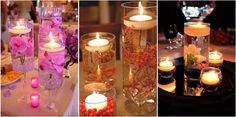 ¿Te gustan las velas? Conviértelas en las protagonistas de tu próximo centro de mesa.