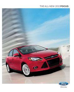 ford focus hatchback brochure