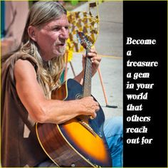 Become a treasure, a gem in your world that others reach out for. http://listenbeloved.net/inner-strength