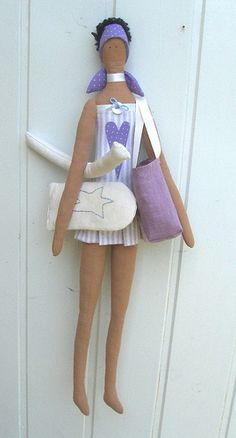 Aqua gym teacher Tilda doll by countrykitty, via Flickr
