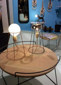 Home Design Contemporary Lamps Ideas Pipe Furniture, Furniture Making, Luxury Furniture, Cool Furniture, Furniture Design, Small Shutters, Diy Lampe, Deco Luminaire, Contemporary Table Lamps