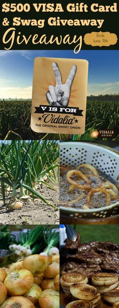 Vidalia Onion Prize Pack $100 giveaway