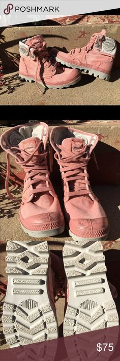 750a8c189304 Palladium Pallabrouse Baggy Boots Old Rose SZ 6.5 New without box Palladium  Pallabrouse Baggy boots in