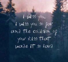 The poetic lyrics that showed you beautiful moments are even better when described in a slightly violent way.