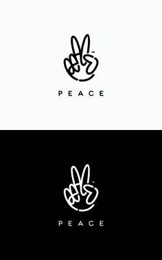 logo / Peace by Rapsick