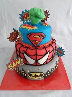 Super hero cake - Cake by Droomtaartjes