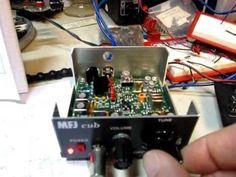 ▶ MFJ Cub 40m QRP CW Transceiver circuit walk-through and review, plus bandsweep, ham radio MFJ-9340 - YouTube