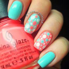 Instagram photo by xoxo_polished #nail #nails #nailart