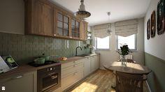 Kuchnia styl Vintage - zdjęcie od PRACOVNIA Projektowanie wnętrz - Kuchnia - Styl Vintage - PRACOVNIA Projektowanie wnętrz