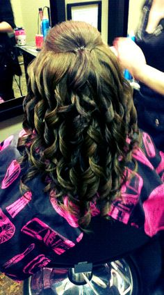 my prom hair 2012