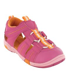 Look what I found on #zulily! Jumping Jacks Pink Beach Time Sandal by Jumping Jacks #zulilyfinds