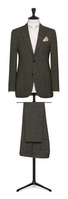 dark green made to measure suit Made To Measure Suits, Ideal Fit, Trousers, The Incredibles, Blazer, Jackets, Dark, Business, Green