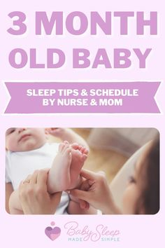 Find out the secrets to getting your 3 month old to sleep amazingly. Easy fixes don't work, but rather a consistent and adaptable sleep schedule and bedtime routine are your best bet at this age. This article is a complete guide with super simple, easy to follow tips to promote your newborn's sleep and development. #babysleep #childsleep #3montholdbaby #3monthold #babysleeproutine #babysleepschedule #mom Baby Sleep Routine, Baby Sleep Schedule, Bedtime Routine, 3 Month Old Sleep, 3 Month Old Baby, Toddler Sleep, Kids Sleep, Pediatric Nursing, 3 Month Olds