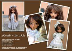 Extra Sale: Tan Amelia MSD BJD by Linda Macario