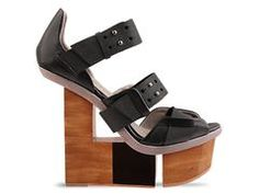 I really want to see some-one walk in these!