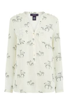 Oasis, FOREST STAG SHIRT Multi