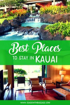 Planning for kauai vacation? Check out the best kauai hawaii hotels to stay in. travel tips, travel ideas, travel destinations, luxury lifestyle inspiration, luxury living Kauai Vacation, Need A Vacation, Hawaii Travel, Vacation Trips, Travel Usa, Vacation Spots, Best Family Vacations, Family Vacation Destinations, Travel Destinations
