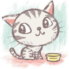 Кавайняшка: Занятия котенка в иллюстрациях