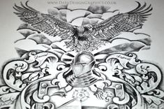 Creating your own coat of arms from Dark Design Graphics. Alasdair explains how he creates a custom Family Coat of Arms from concept to final design. Tattoo Uk, Arm Tattoo, Design Your Tattoo, Tattoo Designs, Shield Tattoo, Arm Drawing, Belly Tattoos, T Shirt Picture, Eagle Tattoos