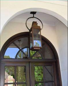 Copper Light Fixture, Copper Lighting, Outdoor Light Fixtures, Antique Lighting, Cool Lighting, Lantern Lighting, House Lighting, Island Lighting, Lighting Ideas