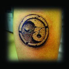 ... Dövmeleri - 3 Boyutlu Ying Yang Dövmesi / 3D Ying Yang Tattoo