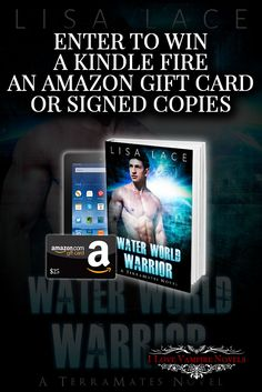 Win a Kindle Fire, a $25 Amazon Gift Card or a Signed Paperback from Author Lisa Lace