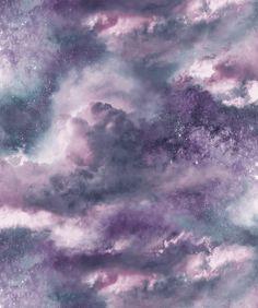 Arthouse Diamond Galaxy Cloud Wallpaper - Blue Blush Pink 260006 & Purple/Blush Pink This beautiful Diamond Galaxy Cloud Wallpaper is based upon mystical sky. High quality wallpaper with glitter effect. Blush Wallpaper, Cloud Wallpaper, Glitter Wallpaper, Striped Wallpaper, Vinyl Wallpaper, Wallpaper Roll, Wallpaper Backgrounds, Purple And Gold Wallpaper, Wallpaper Desktop