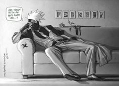 Who would be late to a date with Kakashi though? I would probably be like 20 minutes early