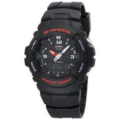Casio Men's G100-1BV G-Shock Classic Ana-Digi Watch #casio #watch