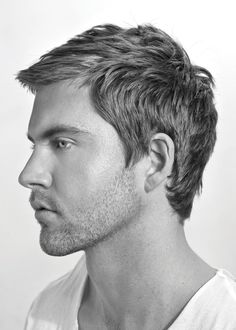 mens hairstyle - this is actually how I want the side and back longer term #groomed #men #hair
